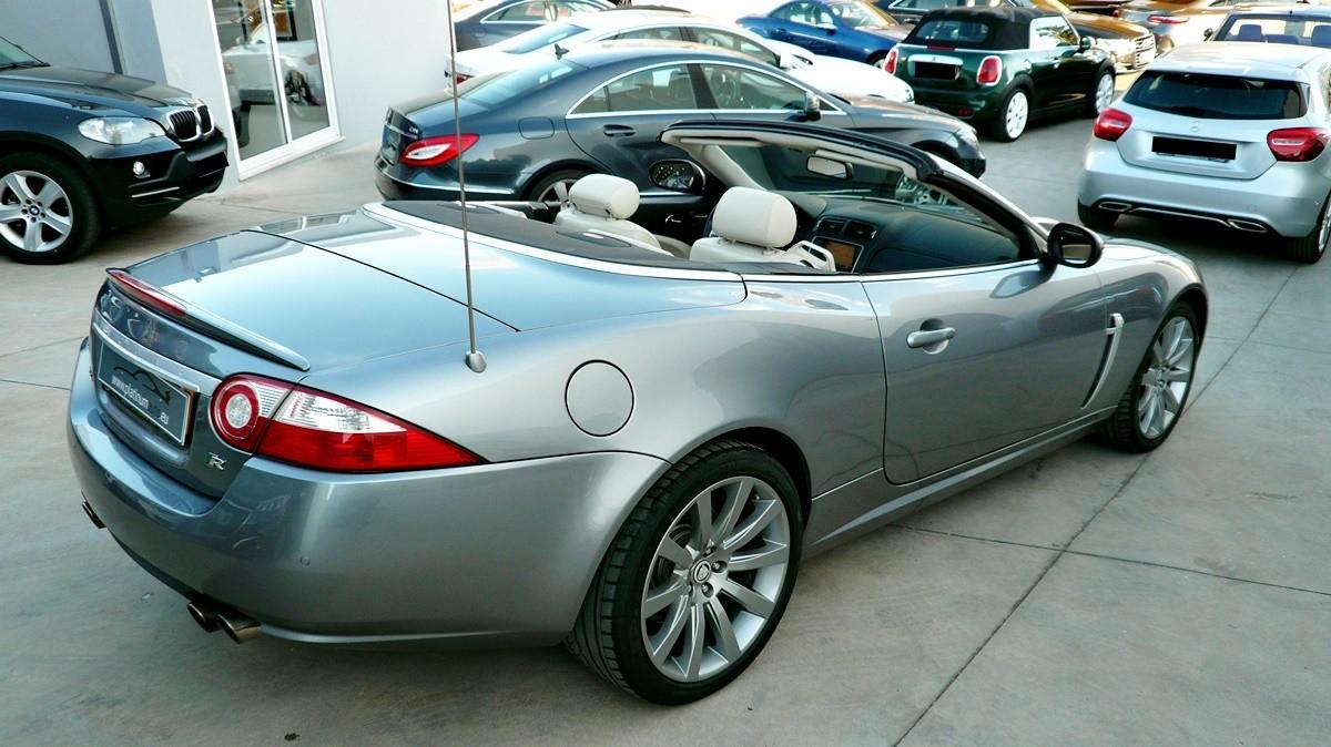 jaguar xkr supercharged cabrio platinum auto sales. Black Bedroom Furniture Sets. Home Design Ideas