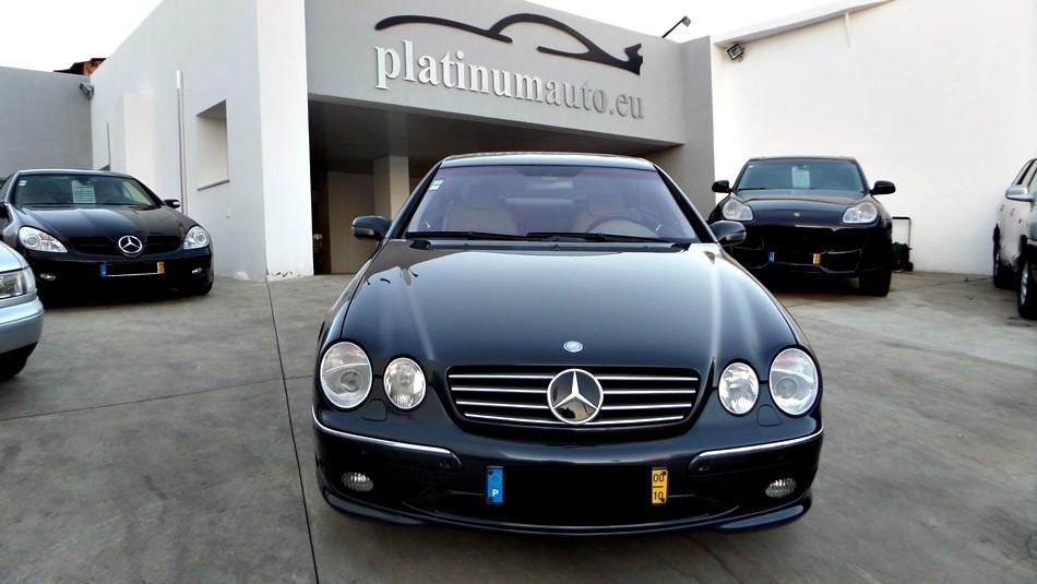 mercedes benz cl 500 amg platinum auto sales. Black Bedroom Furniture Sets. Home Design Ideas