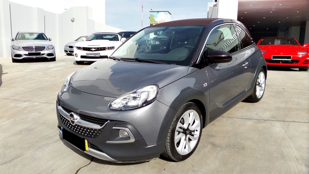 opel adam rocks1 4 cabrio automatic platinum auto sales. Black Bedroom Furniture Sets. Home Design Ideas